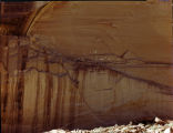 Canyon del Muerto-pictographs Canyon de Chelly National Monument, Arizona.