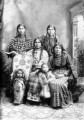 Native American women and children