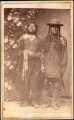 Chief Douglass and squaw, Utes