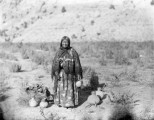 Chief Ouray's squaw, Chipeta
