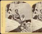 Navajoe [sic] Indian squaw and child [Z-7339];