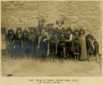 265. Group of Hopis, Second Mesa, Ariz. A.C.Vroman, photo.