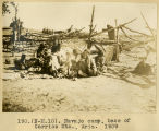 190.(N-M.10). Navajo camp, base of Carriso Mountains., Arizona 1909;