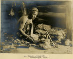224. Navajo silversmith Schwemberger, photo.