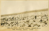 185.(G--118). Indian fence, upper Chinlee Valley, Arizona, 1909;