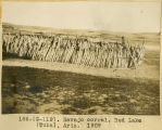 186. (G-119). Navajo corral. Red Lake (Tuba), Ariz. 1909.