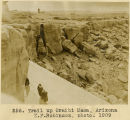 256. Trail up Oraibi Mesa, Arizona H.F. Robinson. Photo. 1909;