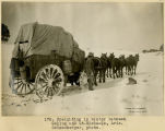175. Freighting in winter between Gallup and St.Michaels, Arizona. Schwemberger, photo;