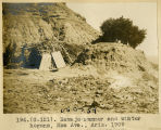 194.(G-121). Navajo summer and winter hogans, Moa Ave., Ariz. 1909.