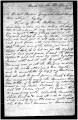 A transcribed letter from Arrowpine for Brigham Young, March 1856