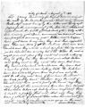 Letter from I Merley (?) to Brigham Young