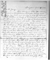 Letter from Orson Hyde to Brigham Young to discuss the shooting of a local man, April 16 1865;