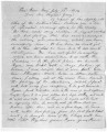 Letter from A. Hickman to Brigham Young. July 13, 1854;