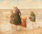 Children on Seashore