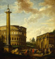 Capriccio of Roman Ruins with Figures