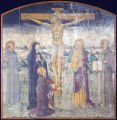 Crucifixion with Saints (Virgin Mary, Mary Magdalen, St. John the Apostle, St. Francis of Assisi,...