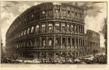 """The Colosseum,"" from ""Vedute di Roma"""