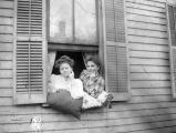 Life in the West-Two Woman at Window