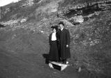 Life in the West- Unidentified couple in Canyon