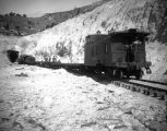 Railroads - Denver and Rio Grande Train in Snow