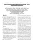 Characterization and modeling of PIDX parallel I/O for performance optimization