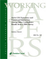 Active life expectancy and functional limitations among older Cambodians: results from a 2004...