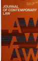 Journal of Contemporary Law Vol. 03