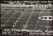 1971 college football game, Utah vs. New Mexico, November 6, part 1 (black and white)