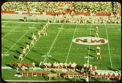 1971 college football game, Utah vs. New Mexico, November 6, part four (black-and-white)