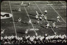 1971 college football game, Utah vs. New Mexico, November 6, part three (black-and-white)