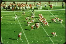 1971 college football game, Utah vs. New Mexico, November 6, part one (color)