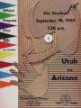 Arizona vs. Utah, September 18, 1965