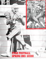 University of Utah Football, 2001 Spring Prospectus