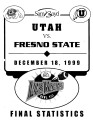 Las Vegas Bowl, Fresno State vs Utah, December 18, 1999