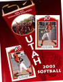 2003 Utah Softball Media Guide