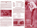 1981-82 Men's Golf Media Guide