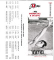 1990-91 Men's Swimming and Diviing Media Guide