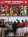 University of Utah Football 2015 Spring Prospectus Media Guide