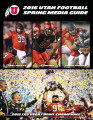 University of Utah Football 2016 Spring Prospectus Media Guide