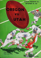 Oregon vs. Utah, September 30, 1961