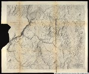 Map of explorations and surveys in New Mexico and Utah