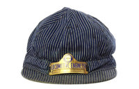 American Westward Migration historical artifacts: Locomotive Engineer Hat