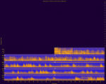 Zion National Park, Site CRZQLT, National Park Service sound spectrograms