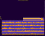 Zion National Park, Site LCREEK, National Park Service sound spectrograms