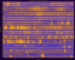 Yellowstone National Park, Site YELLMJ23, National Park Service sound spectrograms
