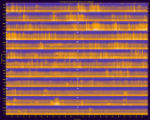 Yellowstone National Park, Site YELLOFUB, National Park Service sound spectrograms