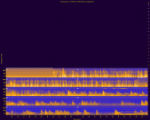 Yosemite National Park, Site YOSE004, National Park Service sound spectrograms