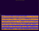Yosemite National Park, Site YOSE007, National Park Service sound spectrograms