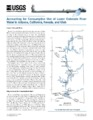 Accounting for consumptive use of lower Colorado River water in Arizona, California, Nevada, and...
