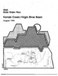 Utah state water plan: Kanab Creek/ Virgin River Basin 1993